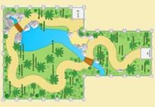 mappa serra tropicale